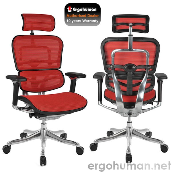Ergohuman Plus Luxury Mesh Office Chair