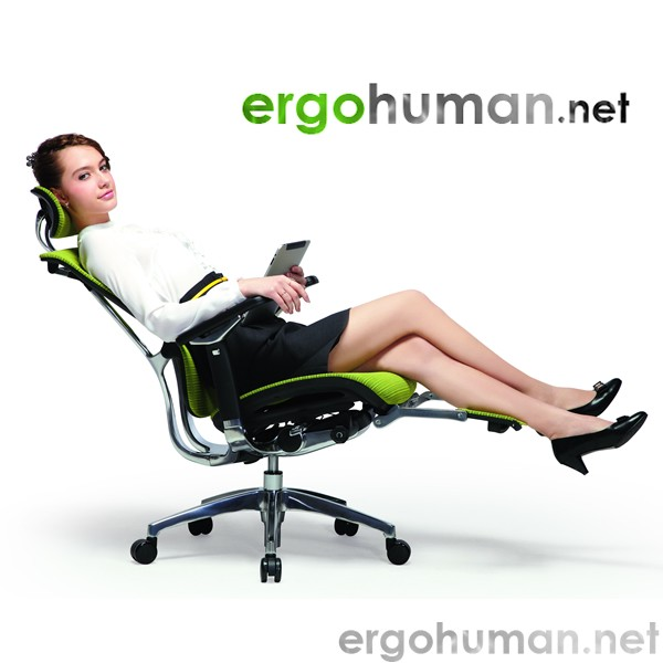 Nefil Office Chair with Leg Rest